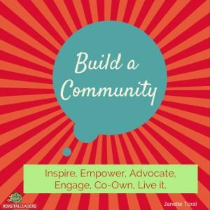 Build a community - Digital Leaders