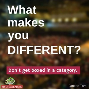 What makes you different - Digital Leaders
